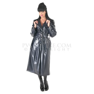 PUL PVC Plastik - Trenchcoat Mantel Regenmantel RA07 CLASSIC MAC - ALLE FARBEN & GRÖSSEN