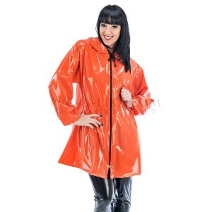 PUL PVC Plastik - Jacke Regenjacke RA08 LADIES FASHION JACKET
