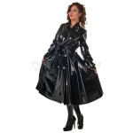 PUL PVC - Mantel Regenmantel Rock-Style RA59 SKIRTET COAT