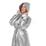 PUL PVC - Alltags - Mantel Regenmantel Plastikregenmantel RA63 - ALLE GRÖSSEN UND FARBEN
